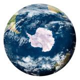 Planet Earth with clouds, Antartide - Pianeta Terra con nuvole, Antartide