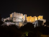 Acropolis hill with Parthenon in Athens Greece - 130249198