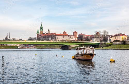 Kraków Wisła i wawel