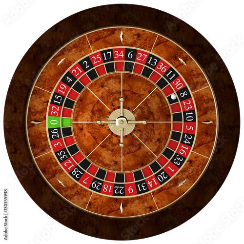 classic casino roulette Poster