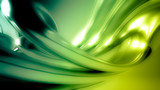 Beautiful green seamless background with three-dimensional shape