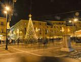 Christmas decorations in Rimini