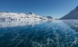Lago Bianco ghiacciato - Passo del Bernina
