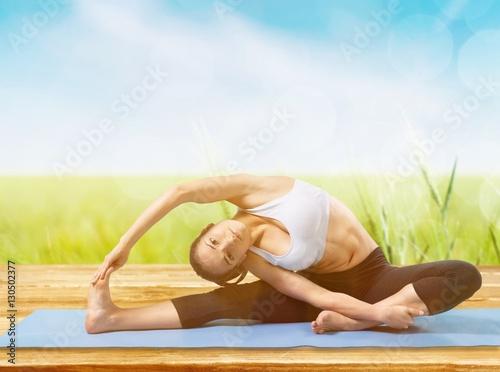 Plagát, Obraz Yoga.