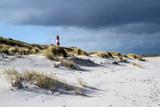 Leuchtturm auf Sylt kurz vor Schneesturm - 130502939