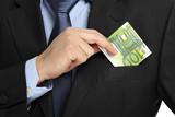 cash in the pocket