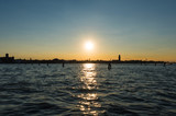 Venice (Italy) - The city on the sea, at sunset