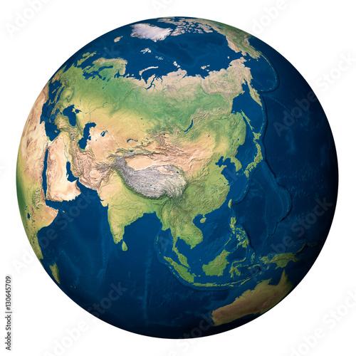 Plexiglas Planet Earth, Asia - Pianeta Terra, Asia