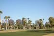 Phoenix Downtown as seen from Encanto Park, AZ