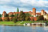 Outside view of Wawel castle