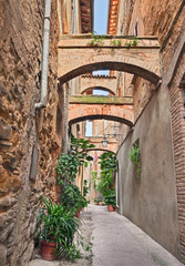 ancient Italian alley