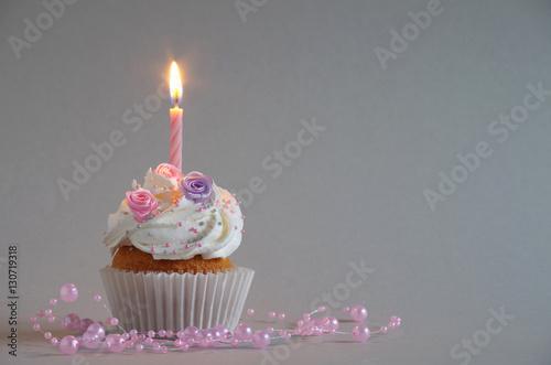 Leinwanddruck Bild Geburtstagskuchen