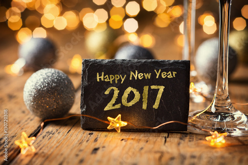 Poster Happy New Year 2017