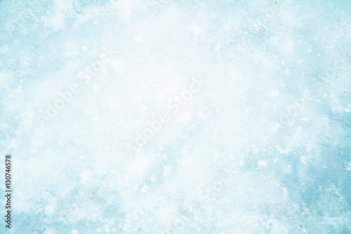Foto Murales Ice blue background