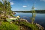 Widok na jezioro w Finlandii