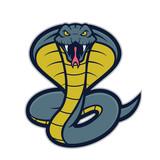 Fototapety Cobra snake mascot