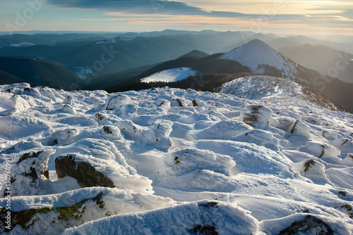 winter Carpathians © pyvovarpavlo