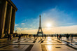 Eiffel Tower Sunrise Trocadero