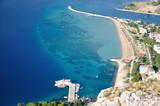 Chorwacja - Panorama miasta Omiś