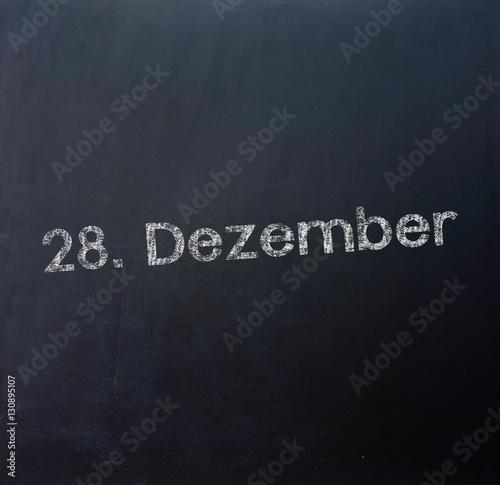 Poster 28 Dezember