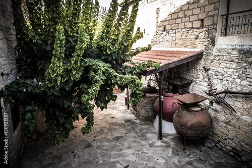 In de dag Cyprus Mediterranean mountain village