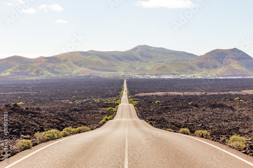 Tuinposter Canarische Eilanden View of Lanzarote, in Spain
