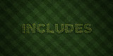 INCLUDES - fresh Grass letters with flowers and dandelions - 3D rendered royalty free stock image. Can be used for online banner ads and direct mailers..