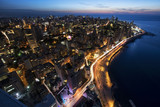 Aerial View of Beirut Lebanon, City of Beirut, Beirut city scape  - 130976138