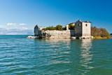 Заброшенная тюрьма на озере / Old abandoned prison in the lake