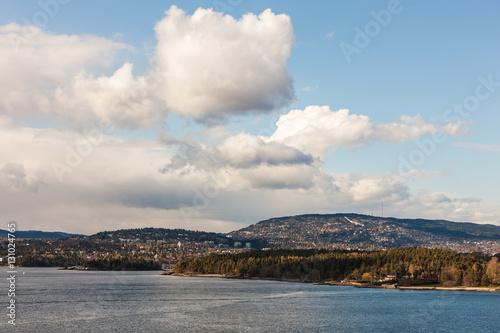 Poster coast near Oslo