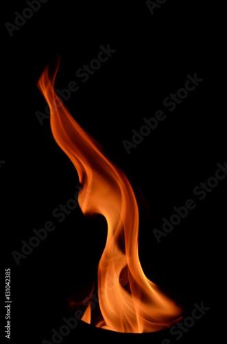Fotobehang Vuur / Vlam züngelnde Flammen