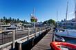 Friday Harbor marina and passenger ferry terminal, San Juan Island, Washington