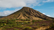 Koko Head Crater on Oahu Island, Hawaii