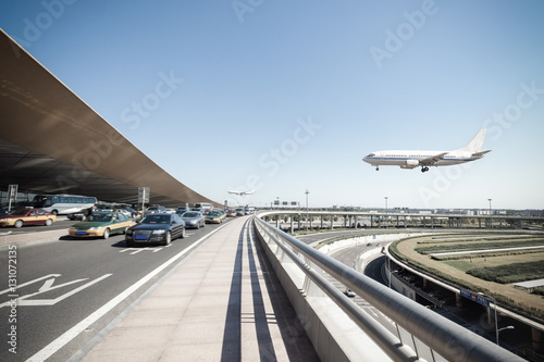 Foto op Canvas Peking beijing international airport