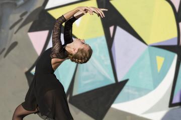 bailarina de ballet. Detalle de manos