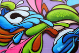 Fototapety Colorful graffiti art