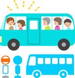 乗客を乗せたバス