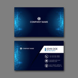 Business Card Template. - 131175134