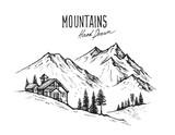 mountain landscape v...