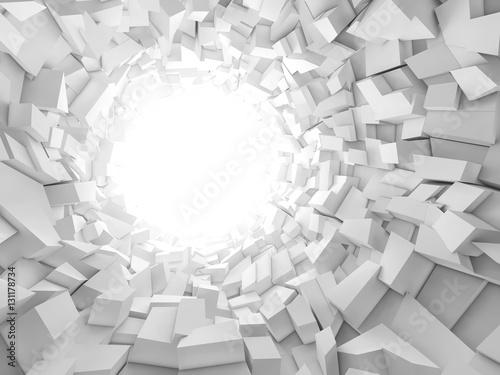 tunel-z-bialych-bokow-z-glebia
