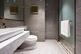 interior of modern bathroom - 131184127