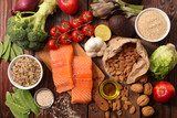 selection of healthy food - 131195784