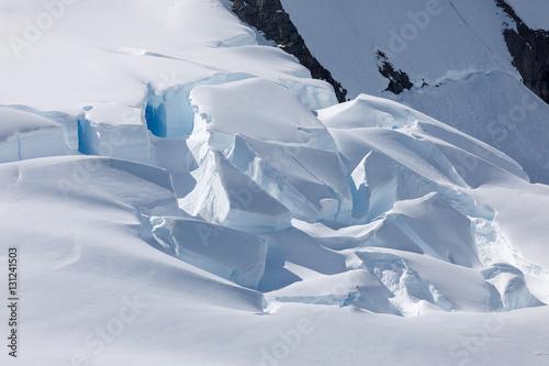 Deurstickers Antarctica Antarktis