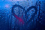 Сердце на запотевшем окне  - 131272769