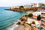 Nerja, Spain. Little touristic town Nerja in Costa del Sol, Andalusia