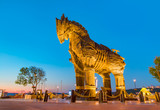 Trojan horse, Canakkale Turkey
