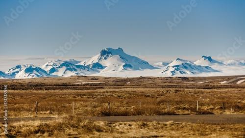 Papiers peints Orange eclat Scenic mountain landscape shot