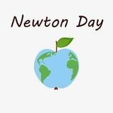Newton day illustration
