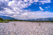 Liard river bed in August