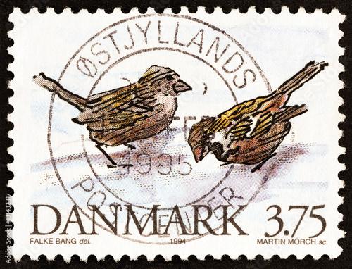 Poster House Sparrows (Denmark 1994)